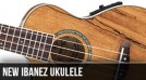 New Left Handed Ibanez Ukulele for 2013