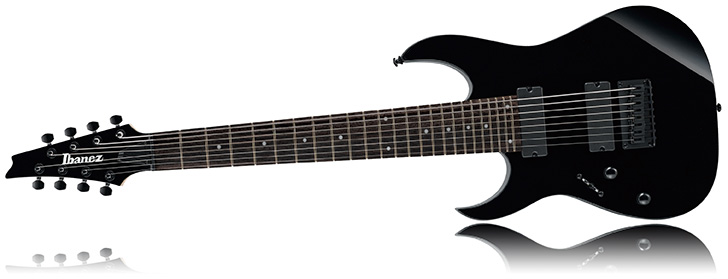 Ibanez RG8L Left Handed 8-String Guitar Lefty