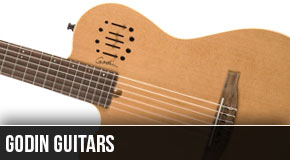 Godin : Left Handed Guitars 2013