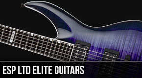 ESP Ltd Elite Left Handed Guitars