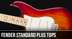 New Fender Standard Plus Top Stratocasters