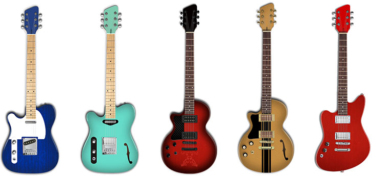 Moniker Left Handed Guitars