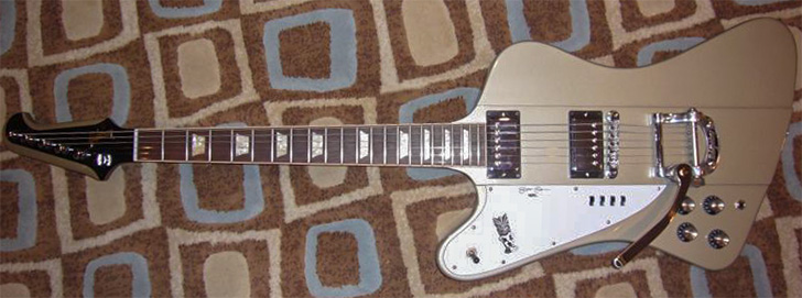 Elliot Easton Gibson Left Handed Firebird