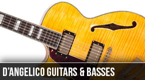 D'Angelico : Left Handed Guitars and Basses