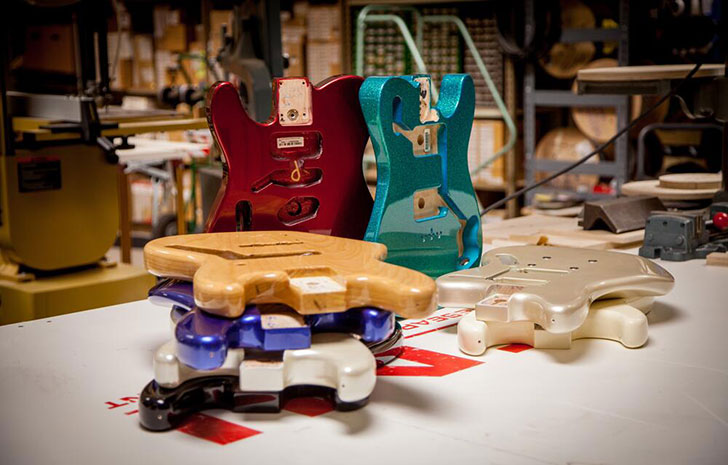 Fender Official Left Handed Guitar and Bass Bodies