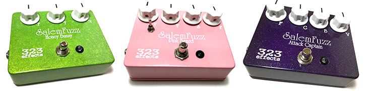 Salem Fuzz Guitar Pedals Review
