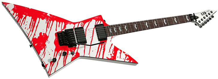 ESP Ltd Dan Jacobs signature DJ600 Blood Guitar