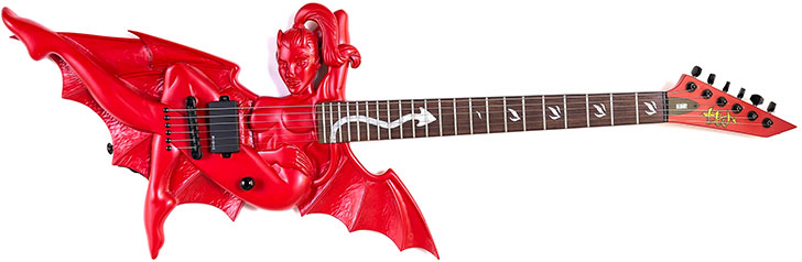 13 Evil Guitar Designs Scary Guitars For Halloween