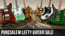 PureSalem Left Handed Guitar Sale