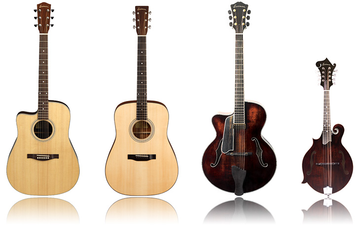 Eastman Left Handed Guitars