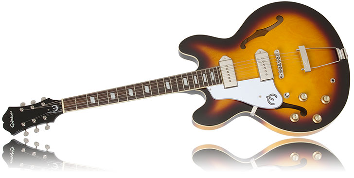 Epiphone Casino Left  Handed Guitar 2014