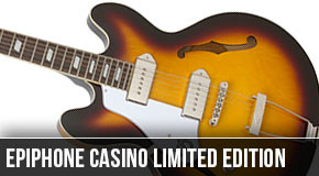Limited Edition Left Handed Epiphone Casino