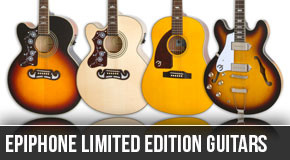 Epiphone 2014 Limited Edition Left Handed Guitars