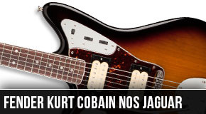 New 2014 Left Handed Fender Kurt Cobain Jaguar