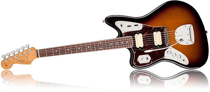 New 2014 Left Handed Fender Kurt Cobain Jaguar