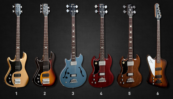 Gibson Left Handed Bass Guitars 2014