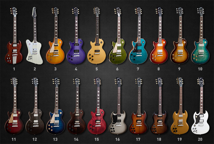 Gibson Left Handed Guitars 2014