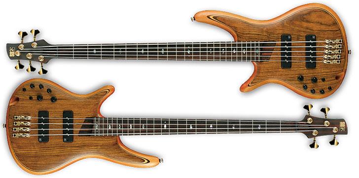Ibanez SR1200EL & SR1205EL Left Handed Premium Bass Guitars