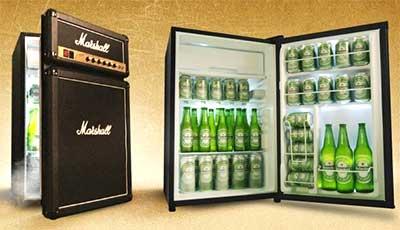 The ultimate guitarist fridge!