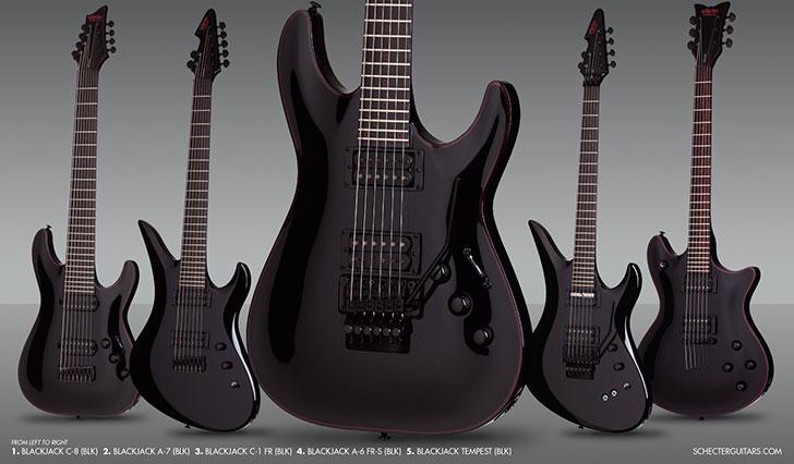 schecter-blackjack-left-handed-guitars
