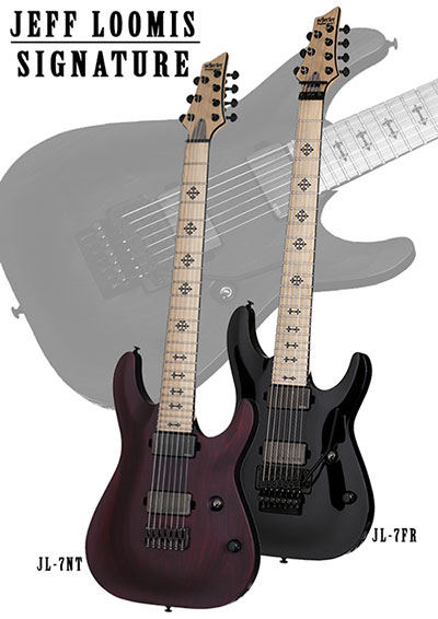 Schecter Jeff Loomis Signature 7-String Left Handed Guitar