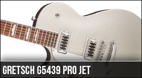New Left Handed Gretsch G5439 Pro Jet