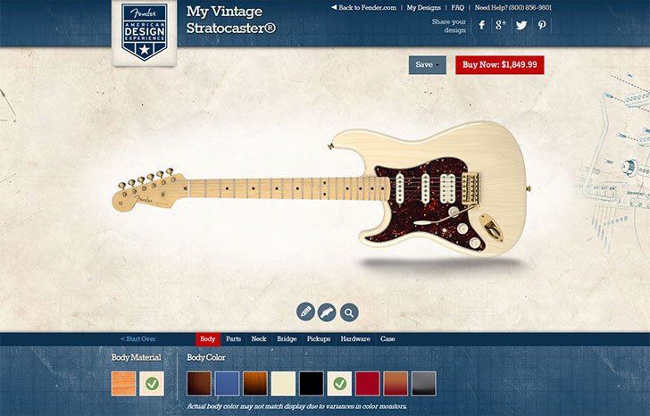 Fender American Design Experience