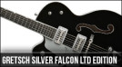 Gretsch Left Handed Silver Falcon Limited Run