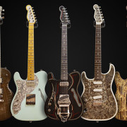 James Trussart Left Handed Guitars