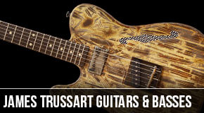 James Trussart : Left Handed Guitars & Basses