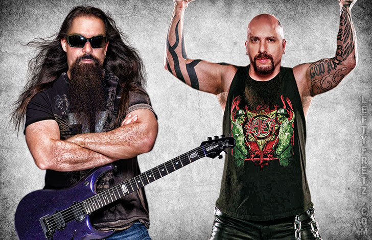 John Petrucci & Kerry King Face Swap