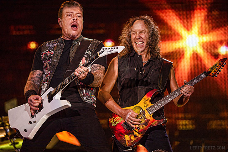 Metallica James Hetfield & Kirk Hammett Face Swap