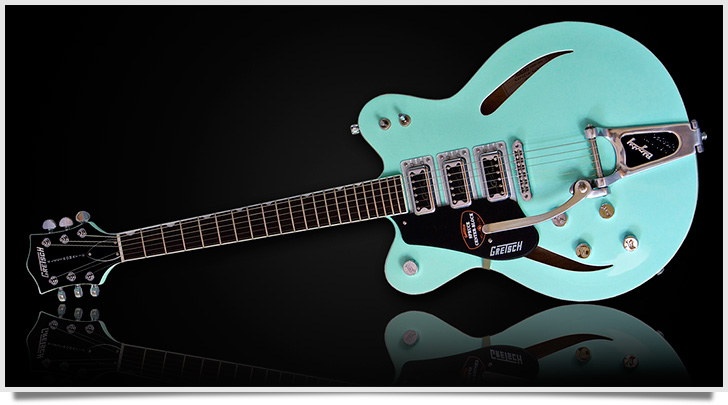 Left Handed Gretsch G5622T-CB Electromatic Guitar