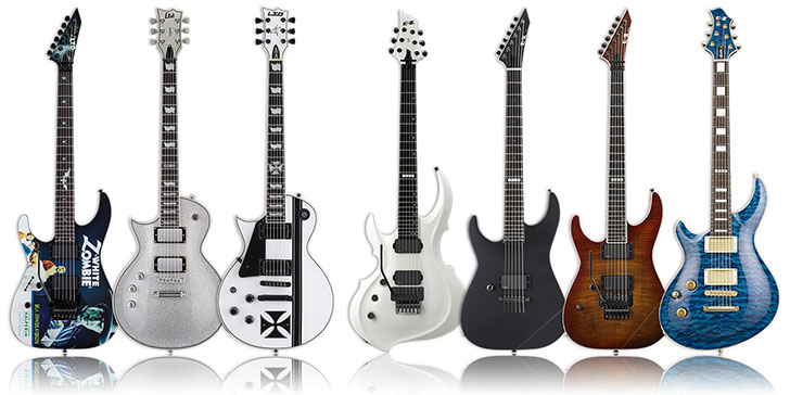 XLG Limited Run ESP Guitars
