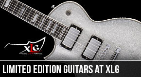 Limited Edition Left Handed Guitars at XLG