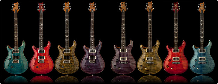 Left Handed PRS Guitars 2014