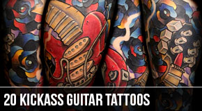 20-best-guitar-tattoo-designs