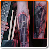 Bass Tattoo