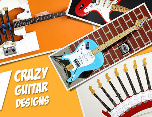 Crazy Guitar Designs
