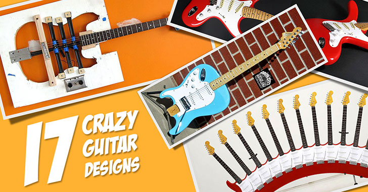 Crazy Guitar Designs