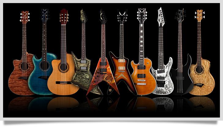 Dean Left Handed Guitars & Basses