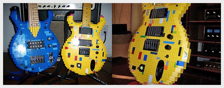 Lego Guitars