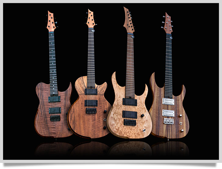 Sample of Hufschmid Guitars