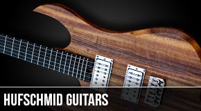 Left Handed Patrick Hufschmid Guitars