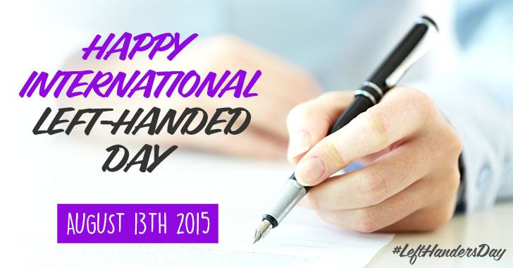 National Left Handed Day