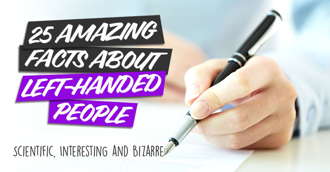 Facts About Left Handed People