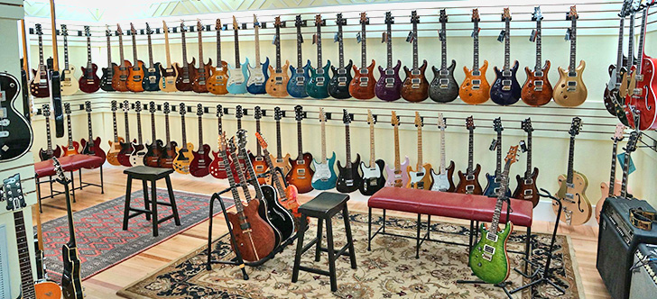 Jerry's Left Handed Guitars