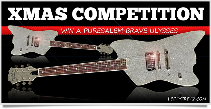 Christmas Competition 2014 - Win a PureSalem Guitar