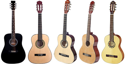 UK Half Size Left Handed Acoustic Classical Guitars