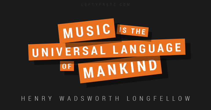 Henry Wadsworth Longfellow Music Quote